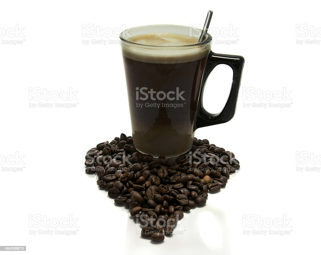 coffe with love stock photo