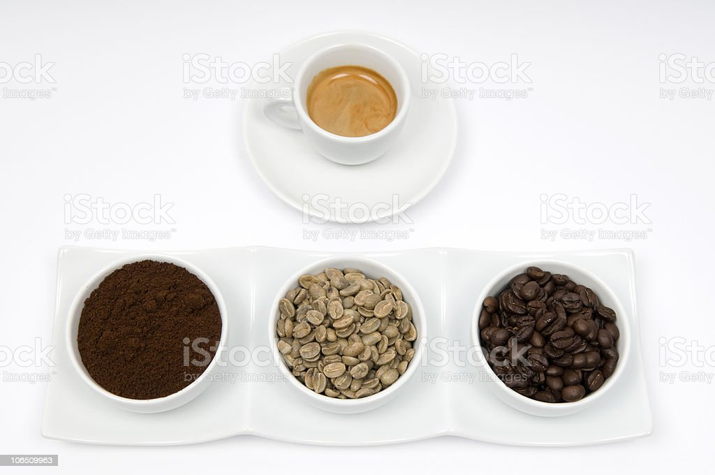 Coffee  1+3 Times royalty-free stock photo