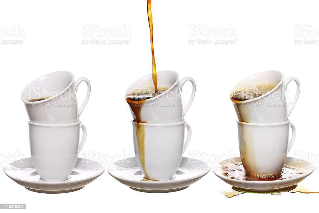 coffee addiction royalty-free stock photo