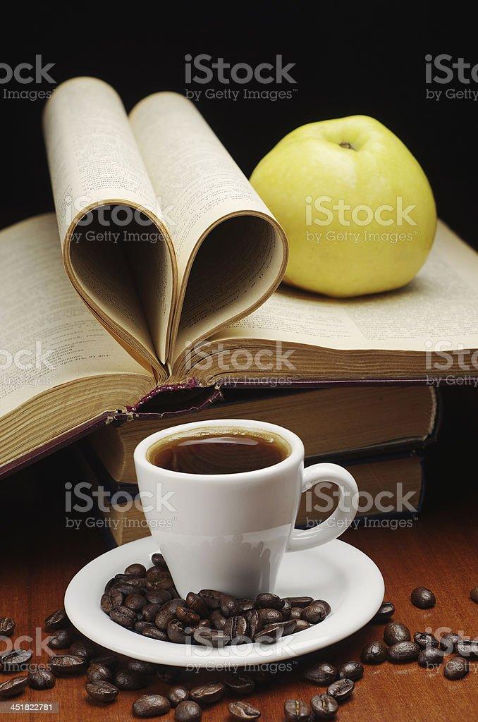 Café y reserve foto de stock libre de derechos