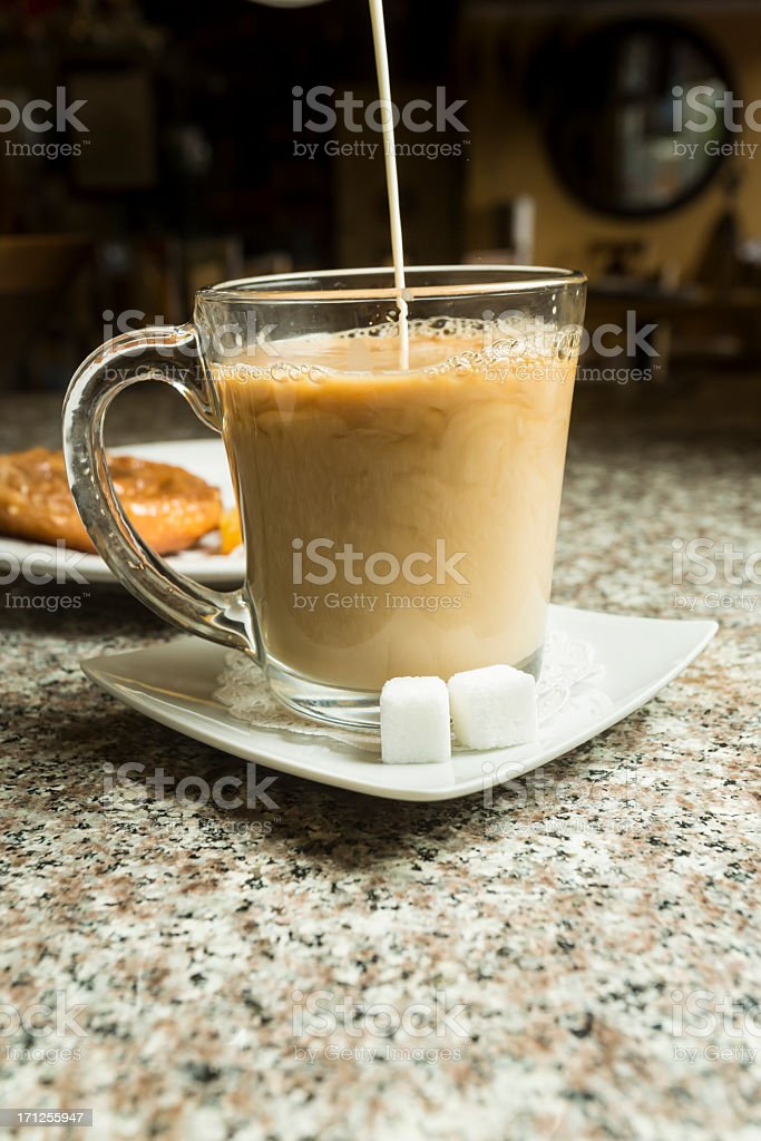 Coffee and Cream royalty-free stock photo