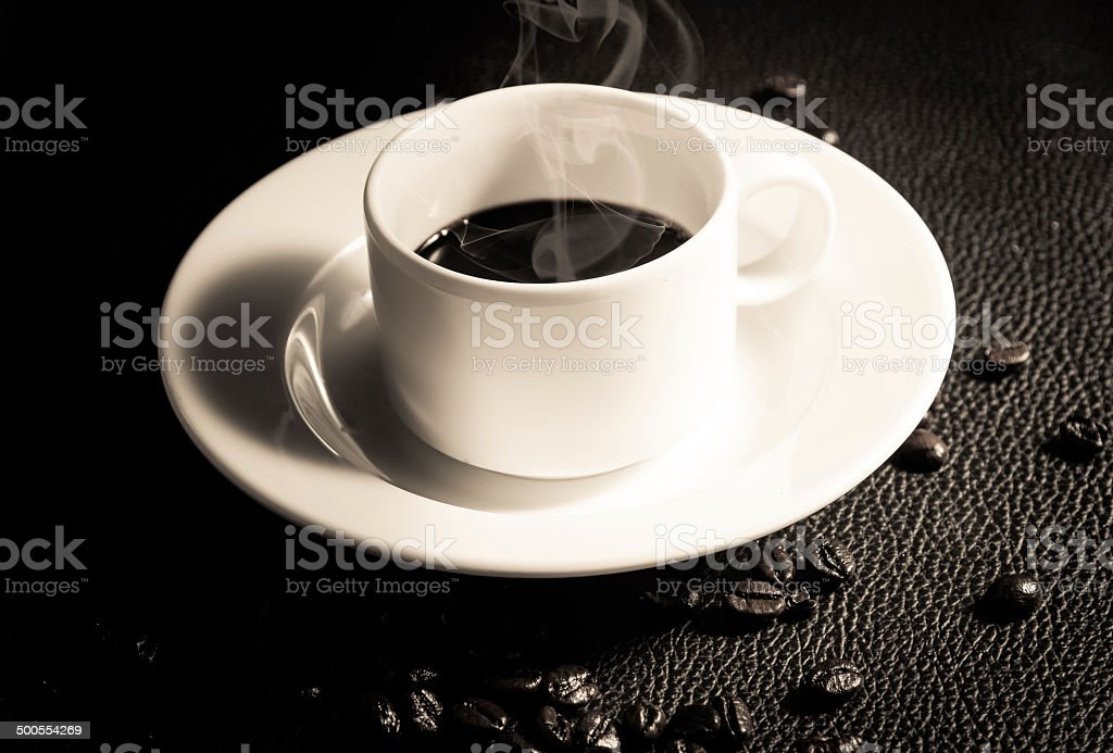 Coffee and Cup royalty-free stock photo