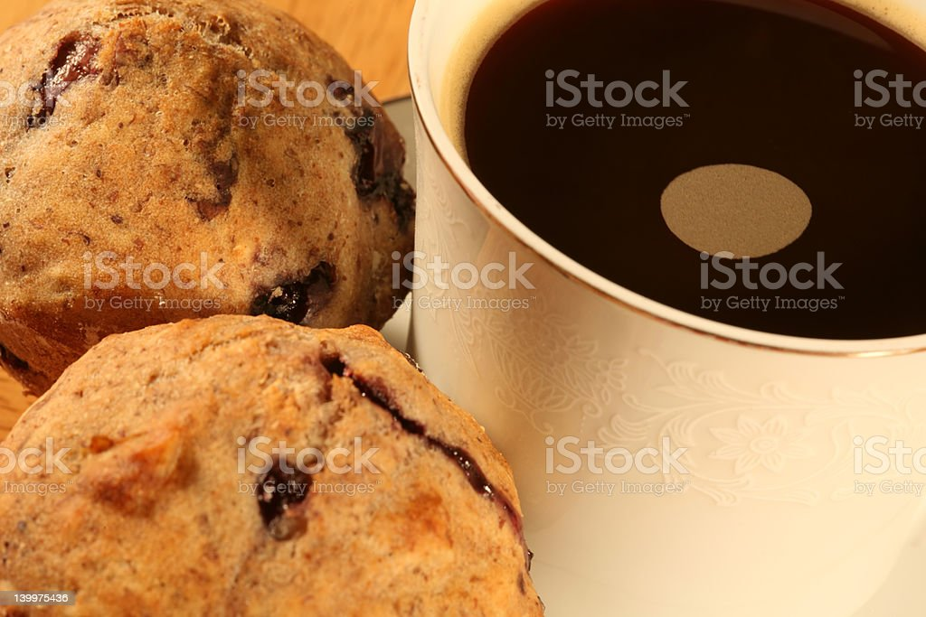 Coffee and Muffins royalty-free stock photo
