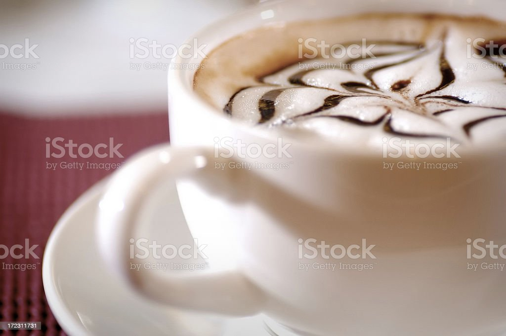 Coffee Art royalty-free stock photo