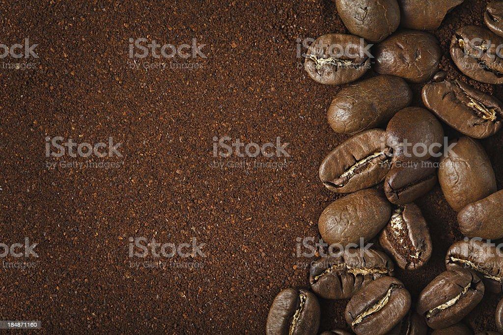 Coffee background stock photo