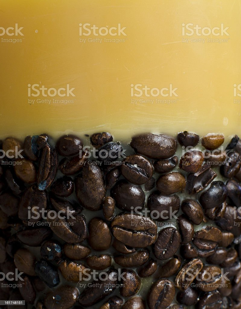 Coffee background with copy space royalty-free stock photo