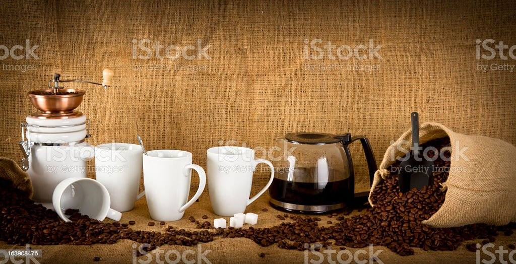 Coffee Banner royalty-free stock photo