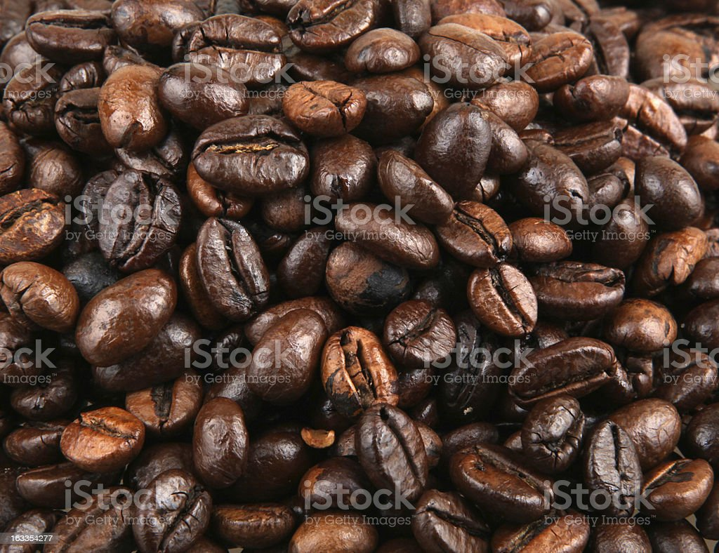 Coffee Bean Background royalty-free stock photo