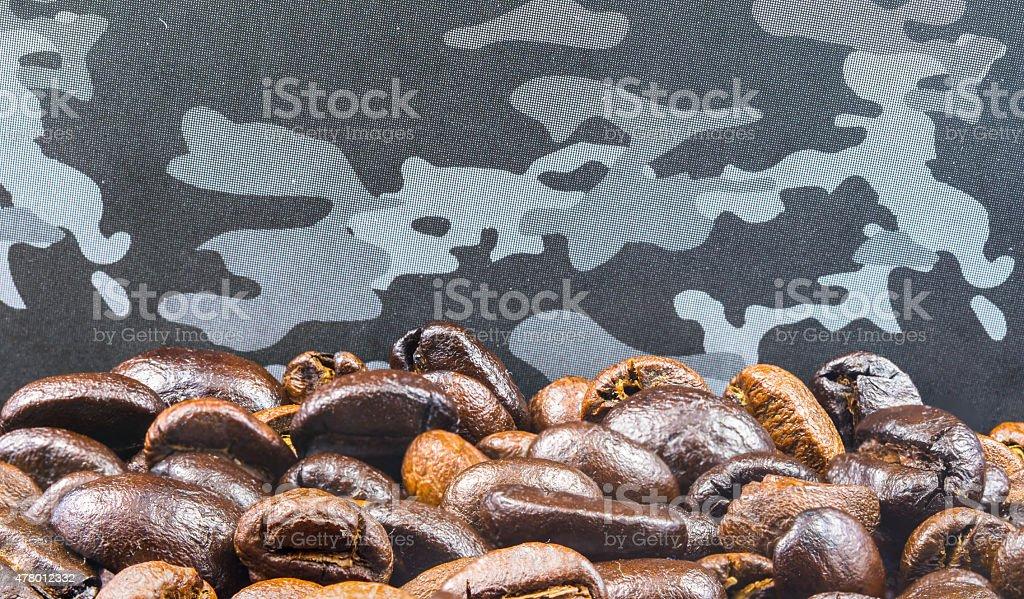 Kaffee Bohne Hintergrund Lizenzfreies stock-foto