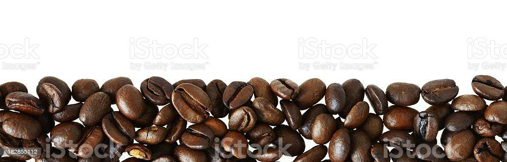 Coffee Bean Border royalty-free stock photo