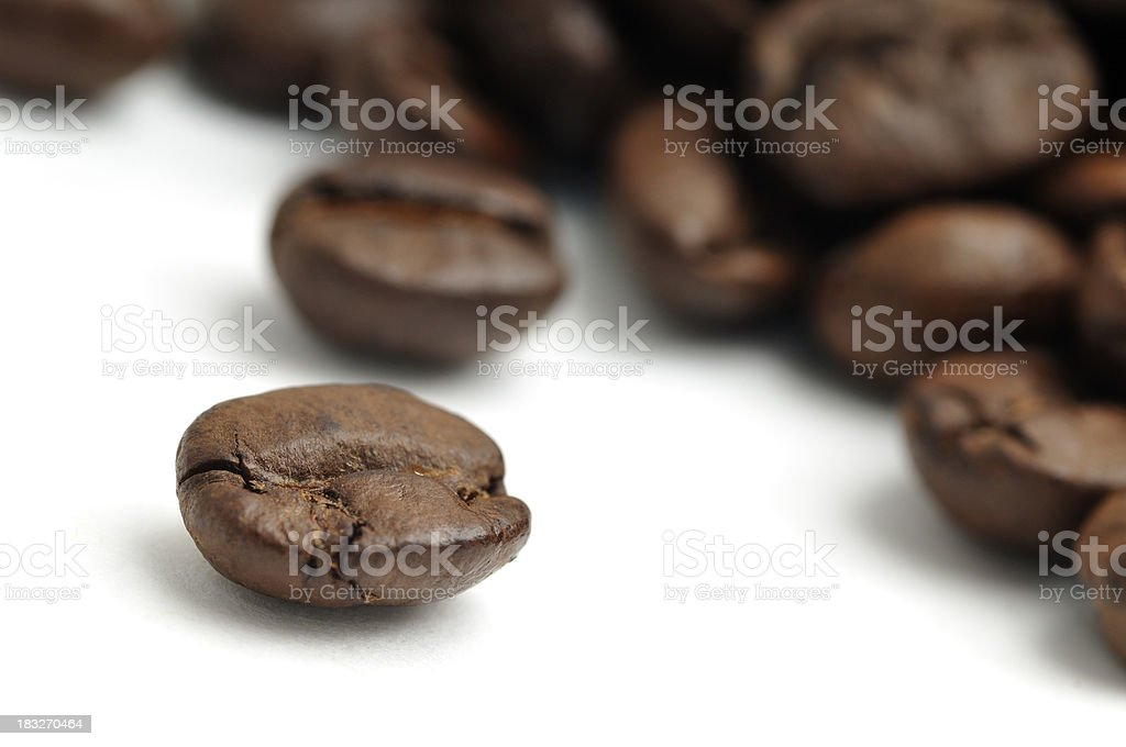 Coffee Bean Close-up royalty-free stock photo