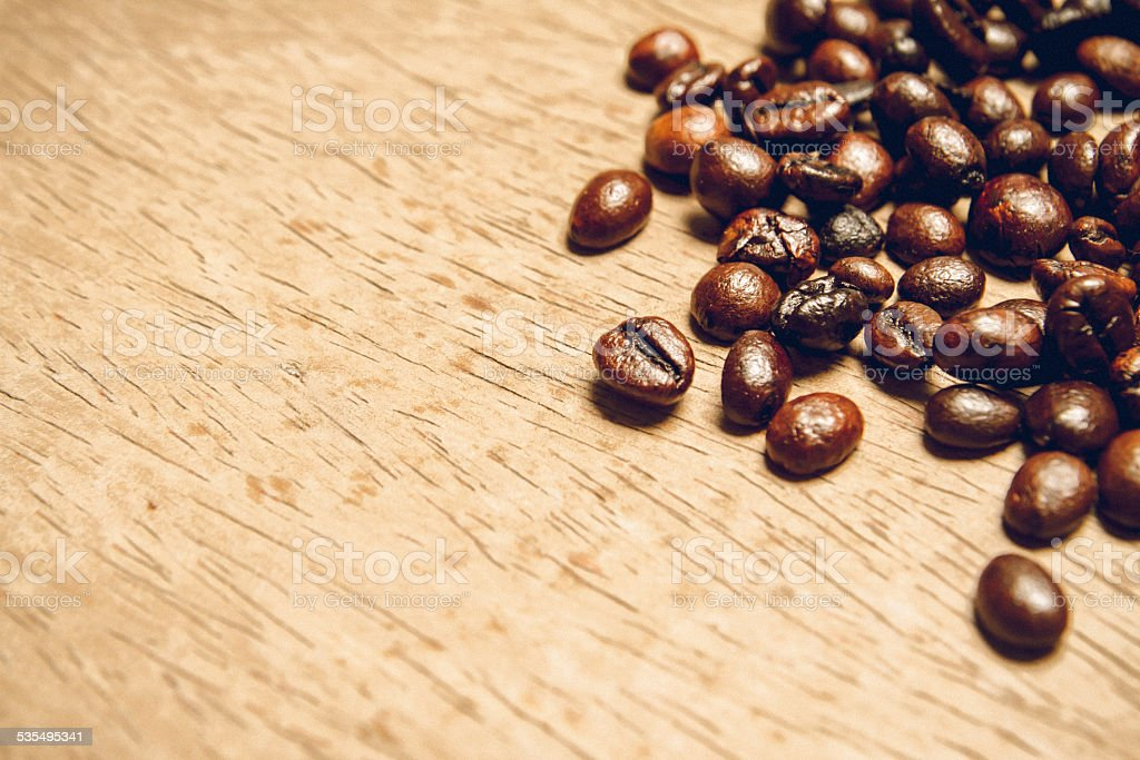 Coffee bean picture, may use as background for design royalty-free stock photo