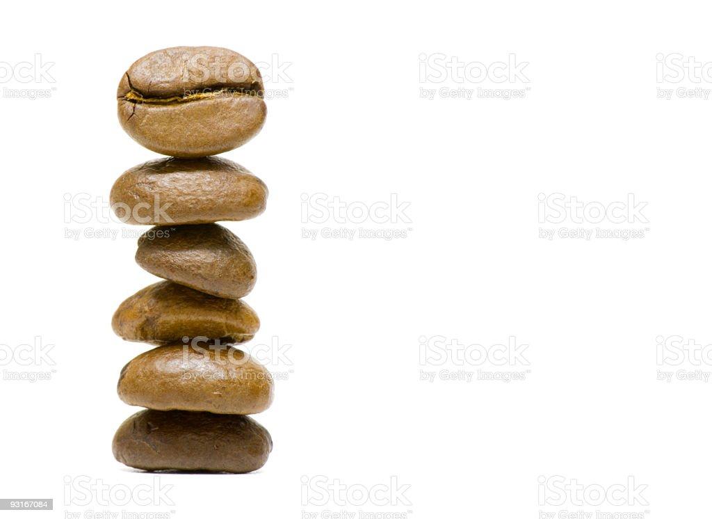 coffee bean statue royalty-free stock photo