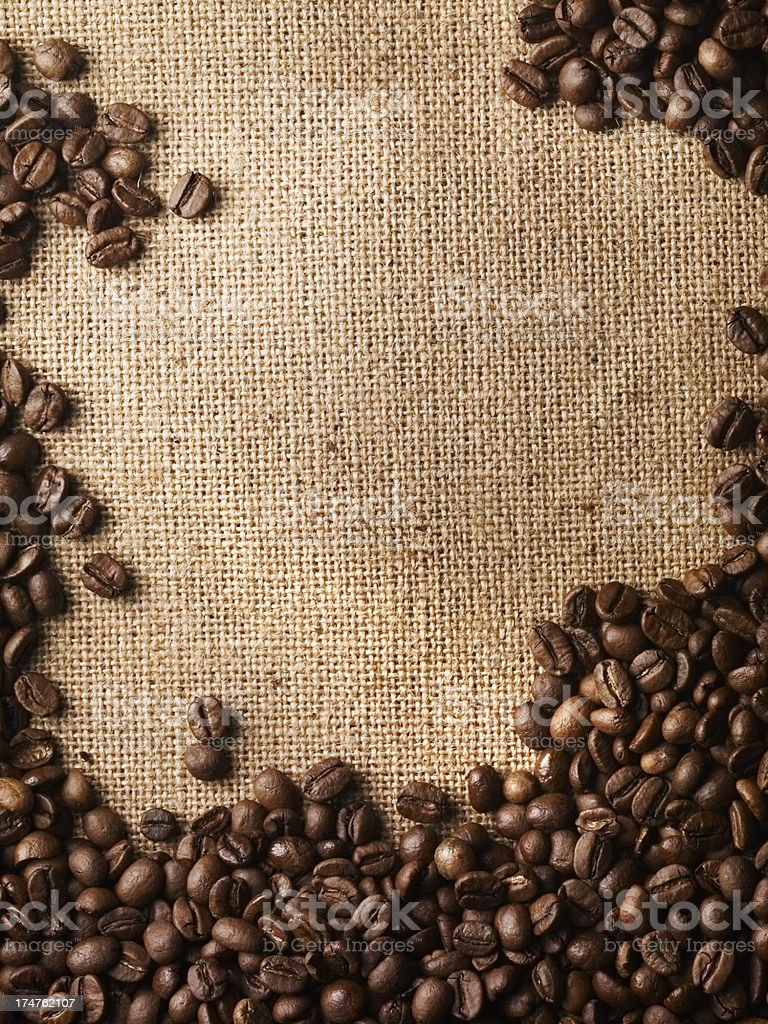 Coffee Beans Background stock photo