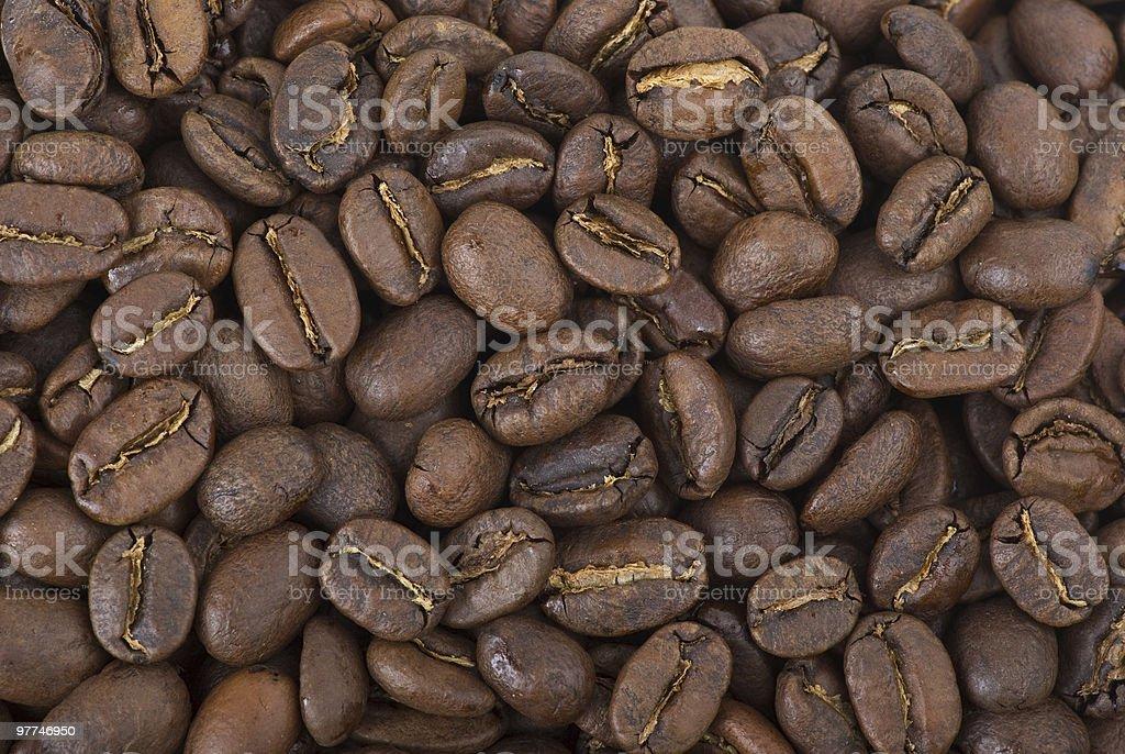 Fundo de grãos de café foto de stock royalty-free