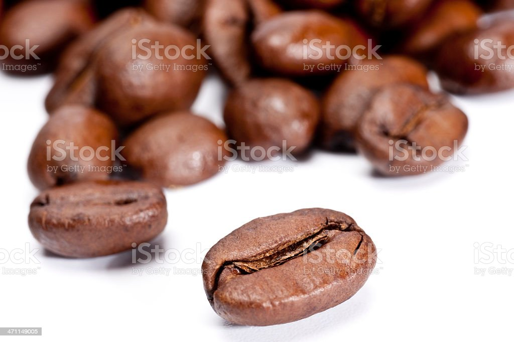Coffee Beans Close-up royalty-free stock photo