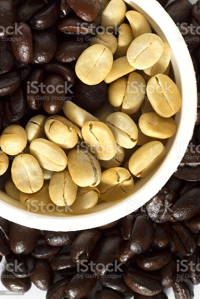 Coffee: Beans royalty-free stock photo