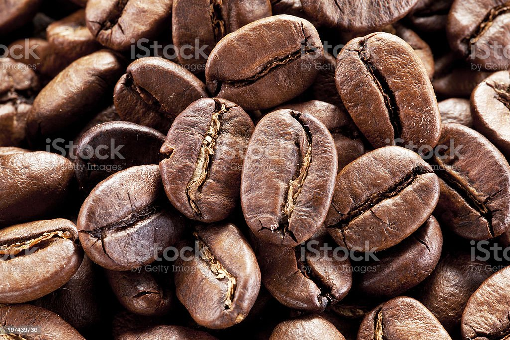 Coffee beans. royalty-free stock photo