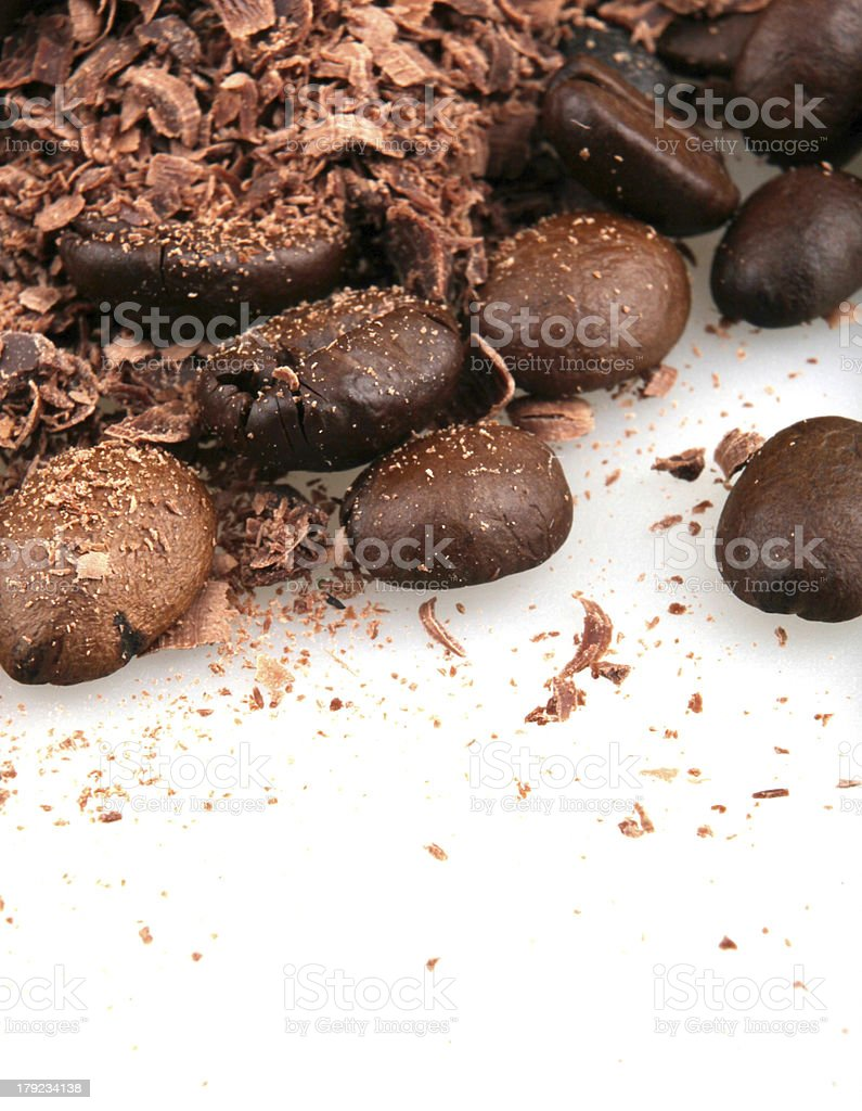 Coffee beans royalty-free stock photo