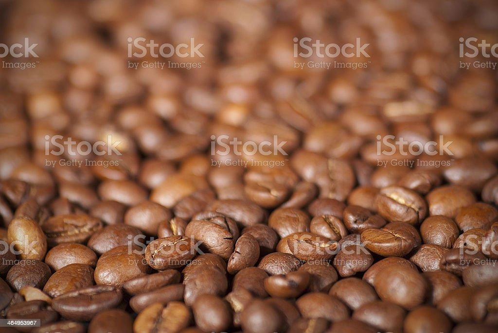 Granos de café foto de stock libre de derechos