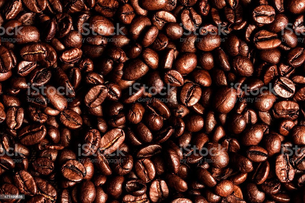 Coffee Beans. stock photo