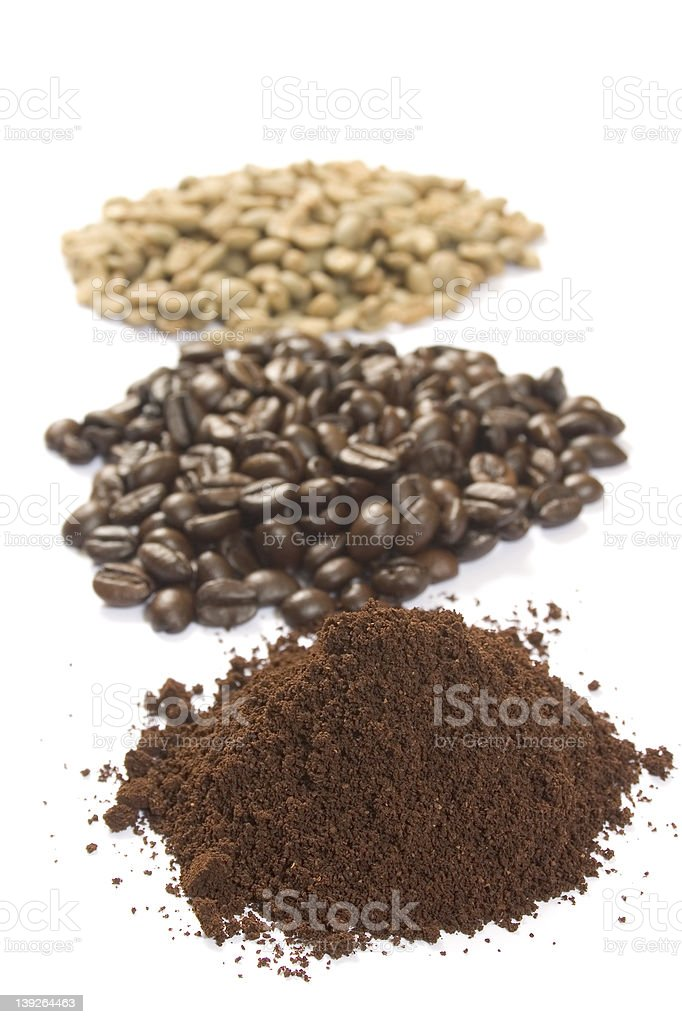Coffee Beans : Stages stock photo