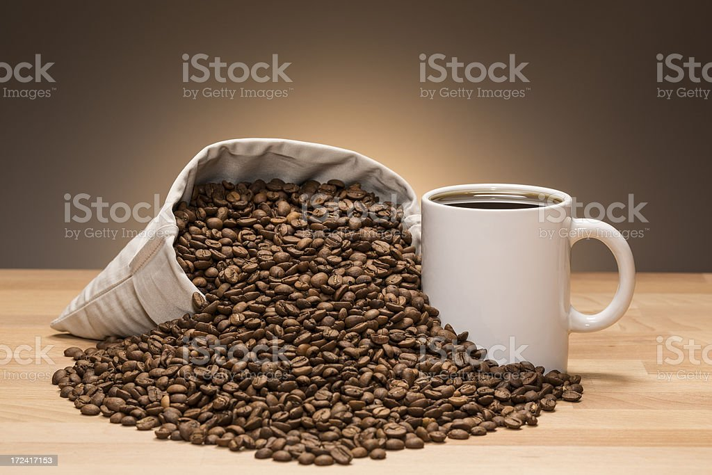 coffee beans still life royalty-free stock photo