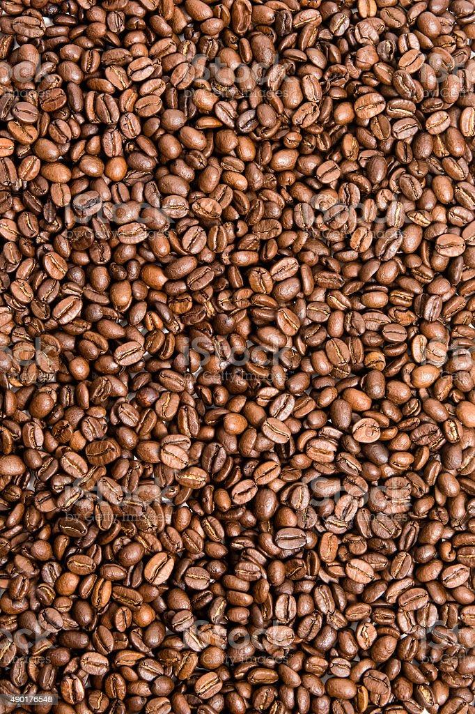 Textura de grãos de café foto de stock royalty-free