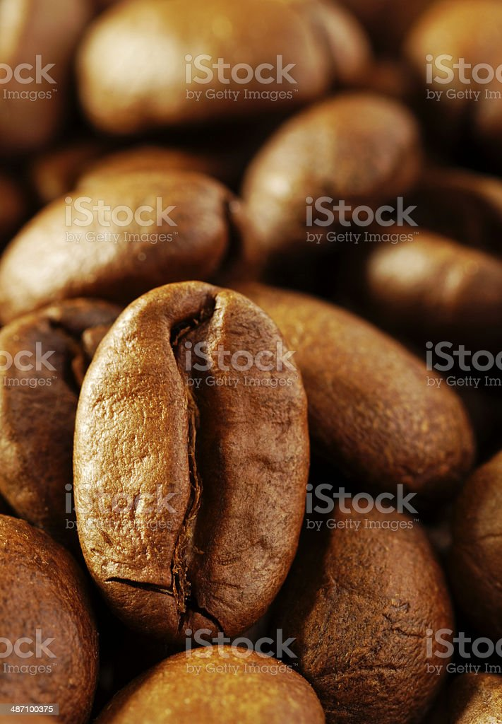 coffee beans three royalty-free stock photo