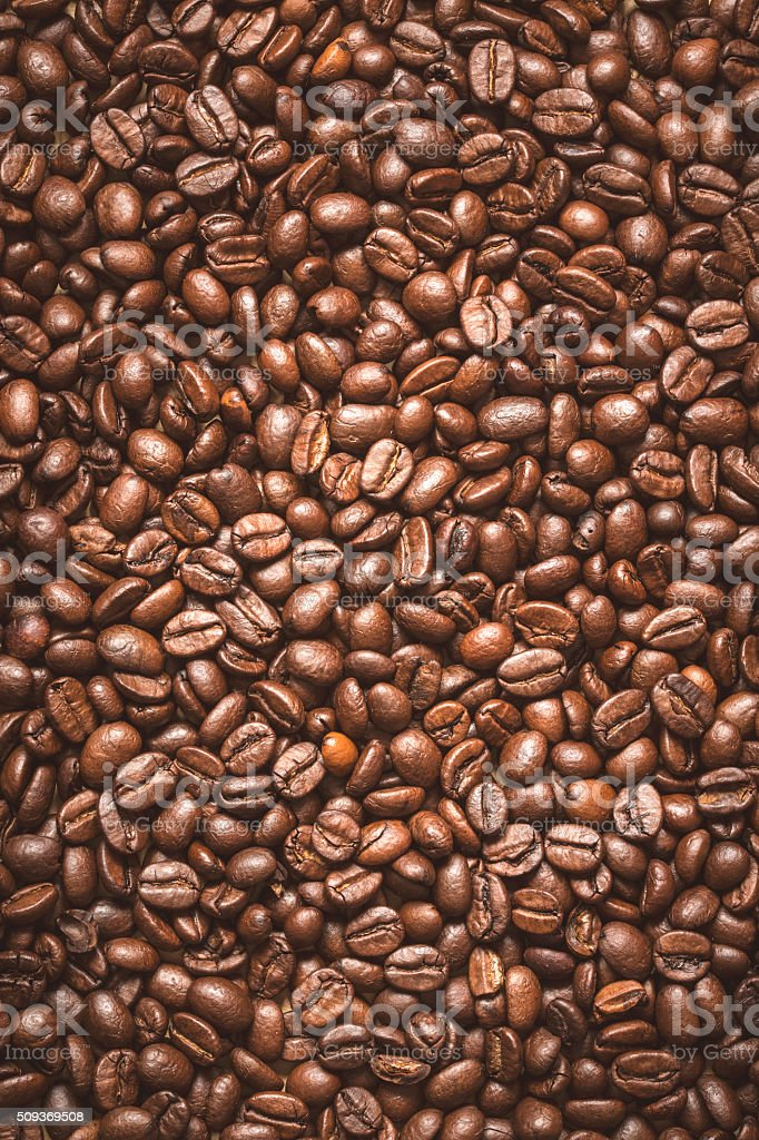 Coffee Beans- Vintage photo stock photo