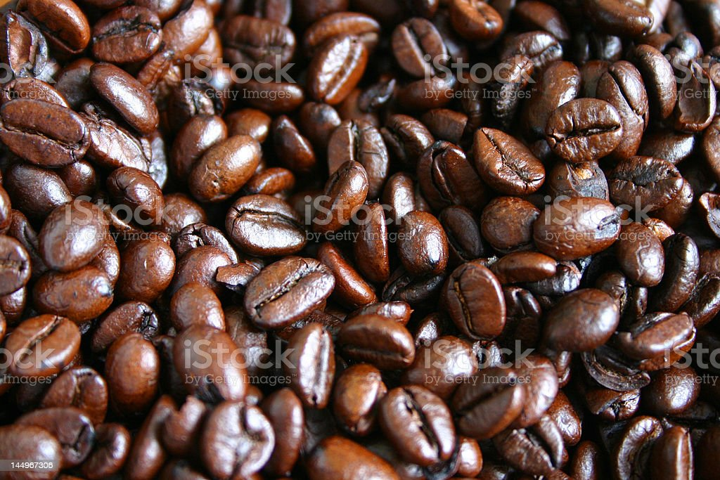 coffee beans winter energy boost royalty-free stock photo
