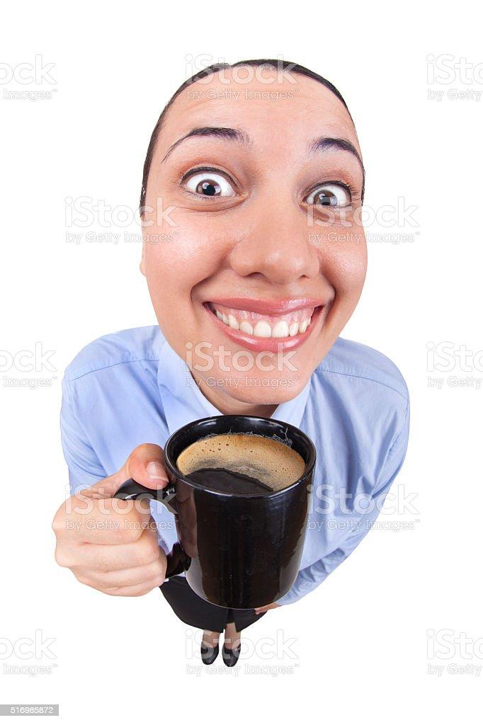Coffee Boss stock photo