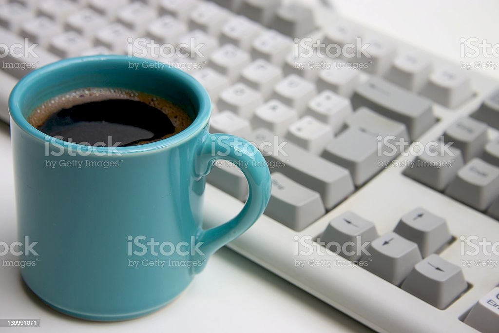 Coffee breack royalty-free stock photo