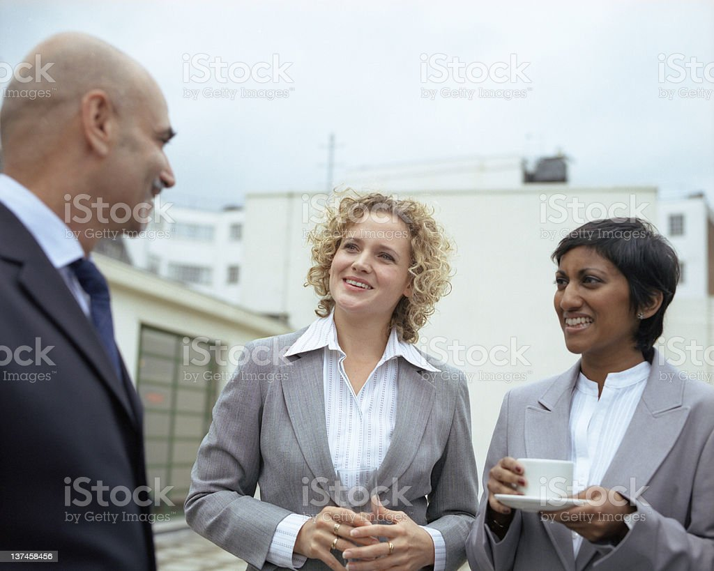 Coffee break at the Office royalty-free stock photo