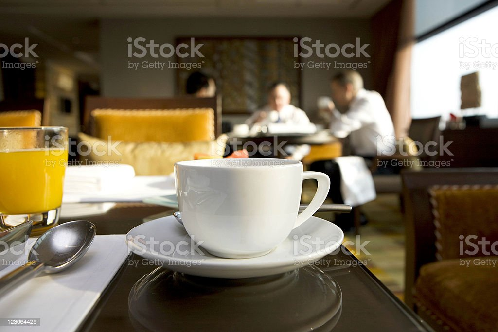 Coffee Break for  businesspeople royalty-free stock photo