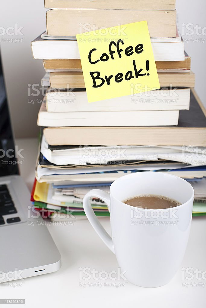 Coffee Break! stock photo