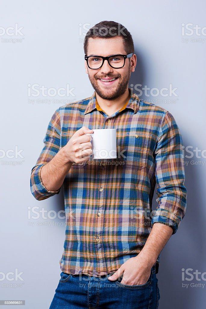 Coffee break. stock photo