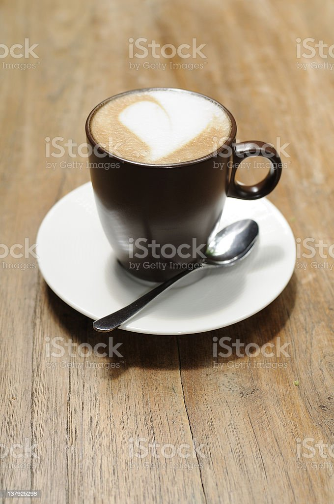 Coffee break time royalty-free stock photo