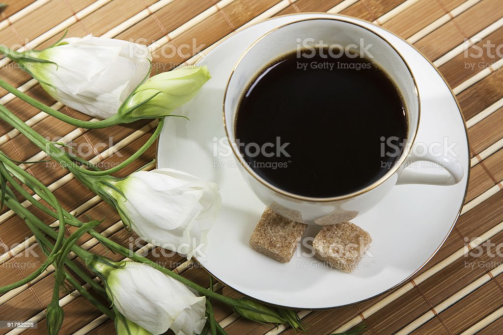 Coffee- break with love royalty-free stock photo