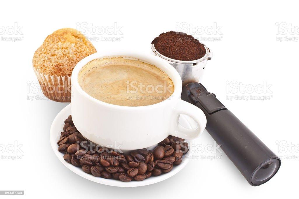 Coffee breakfast stock photo