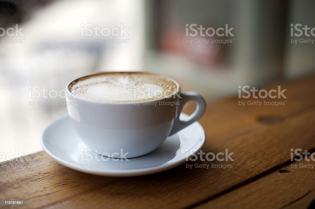 coffee cafe espresso latte royalty-free stock photo