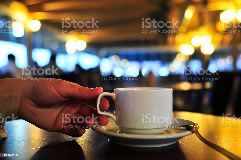 Coffee cafe royalty-free stock photo