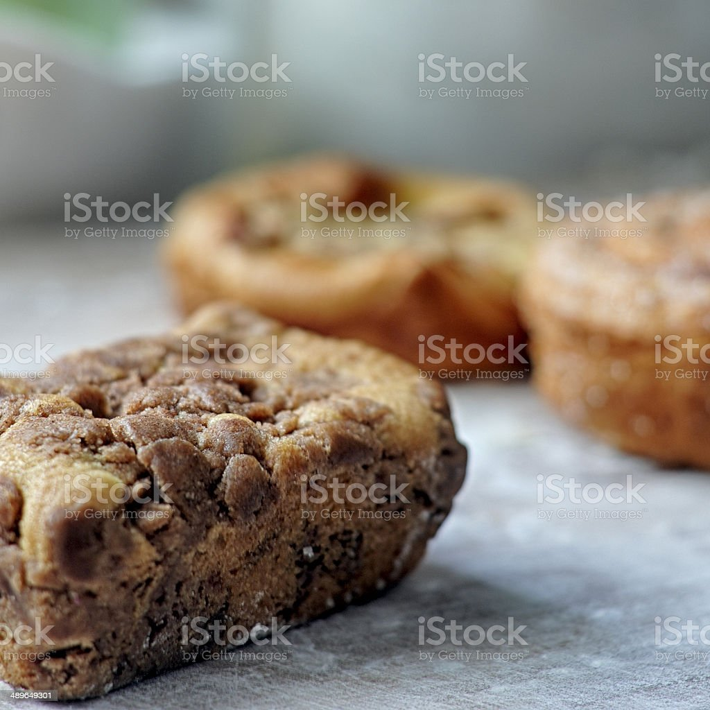 Coffee Cake in Bakery royalty-free stock photo