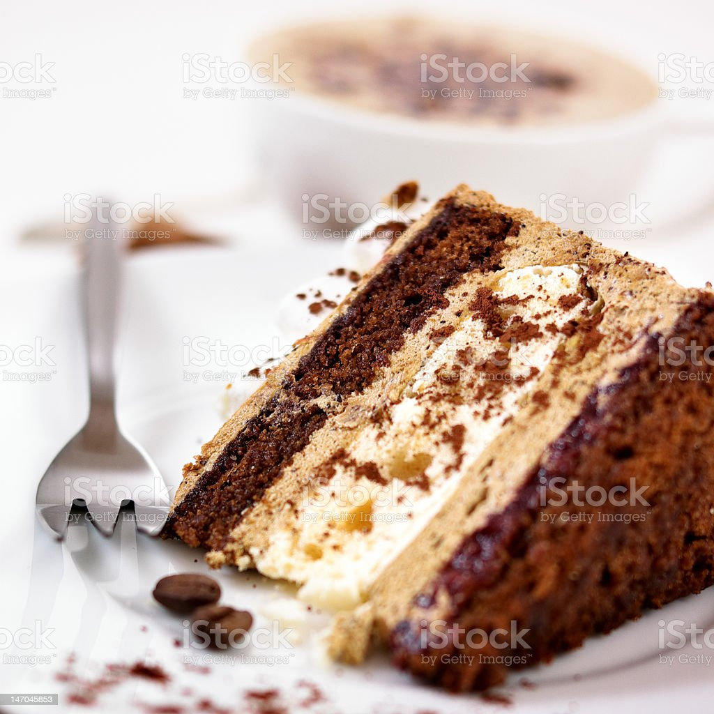Coffee Cake royalty-free stock photo
