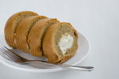 Coffee Cake Roll for Breaking Time.