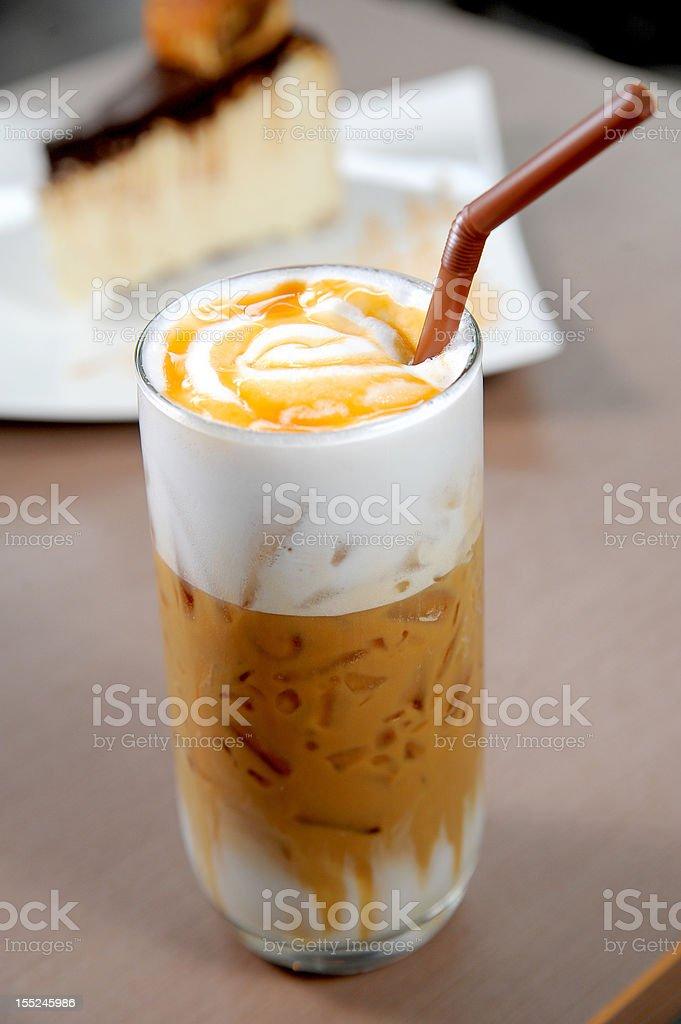 coffee caramel royalty-free stock photo