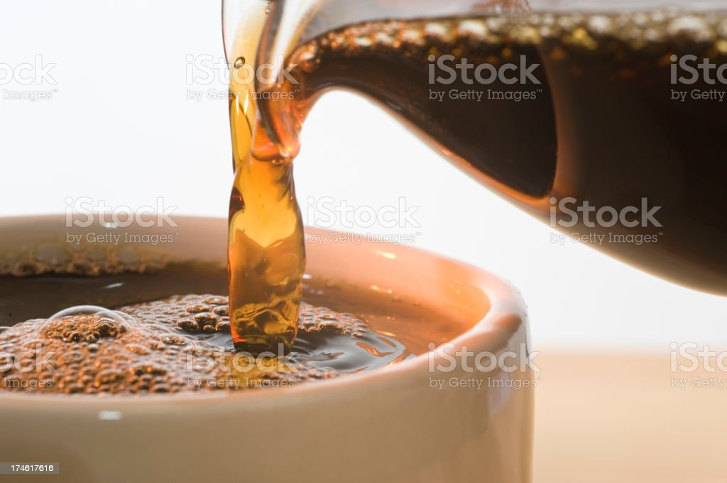 Coffee Closeup royalty-free stock photo