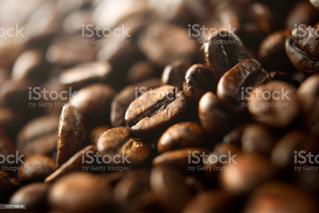 Coffee: Coffee Beans Background royalty-free stock photo