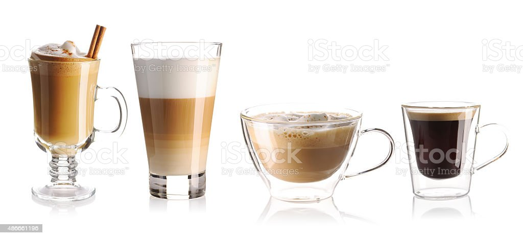Coffee collection stock photo