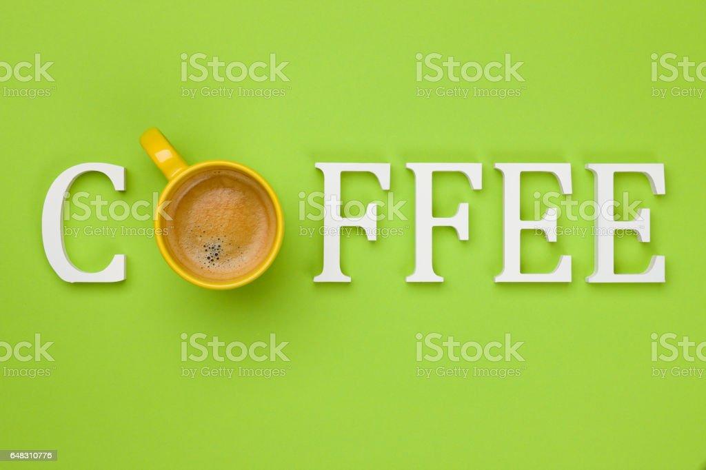 Coffee - Concept stock photo